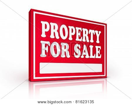 Real Estate Sign – Property For Sale