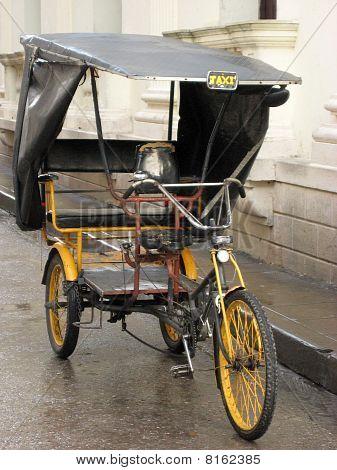 Becak, ricksha, pedicab