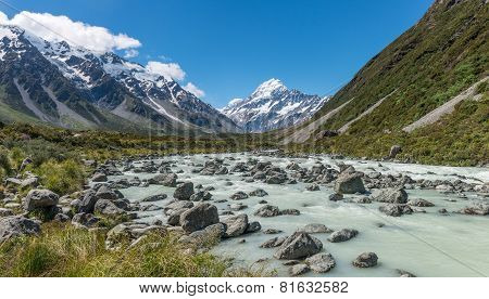 Hiking in Mount Cook National Park