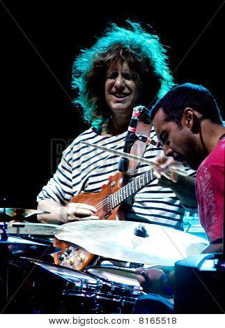 Pat Metheny And Antonio Sanchez At Umbria Jazz Festival