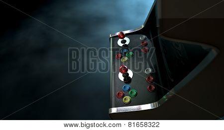 Arcade Machine Dramatic View