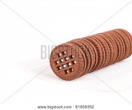 Chocolate Cream Cookie