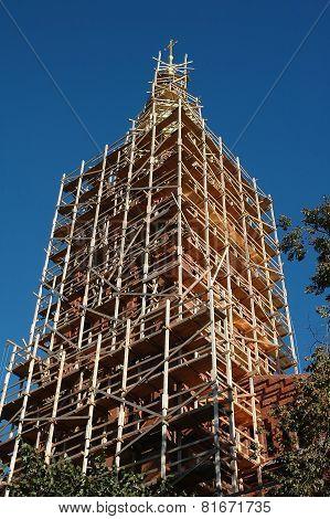 Renovation Of An Church Tower
