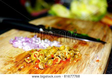 Chopped Olives