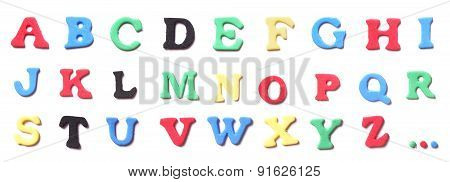 foam rubber letters alphabet