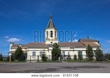 Church of St. Nicholas. Nizhny Tagil. Sverdlovsk region. Russia.