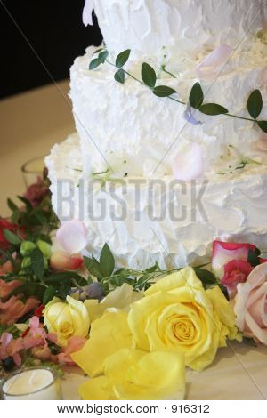 Wedding Cake - Sweet Dessert