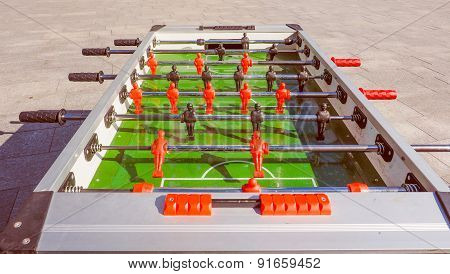 Retro Look Table Football