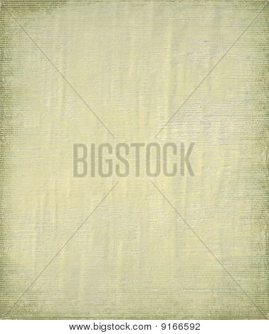 Pale Painted Ply And Bamboo Background With Frame