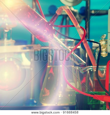 Chemical synthesis of magnetic nanoparticles, toned photo