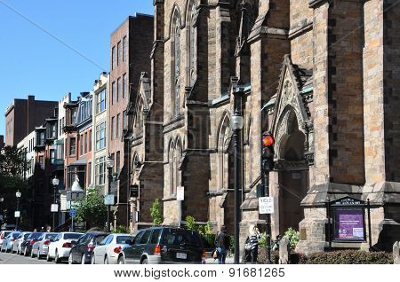 Newbury Street in Boston