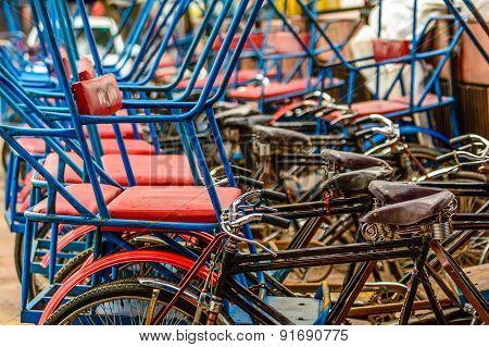 Rikshaw In New Delhi,india