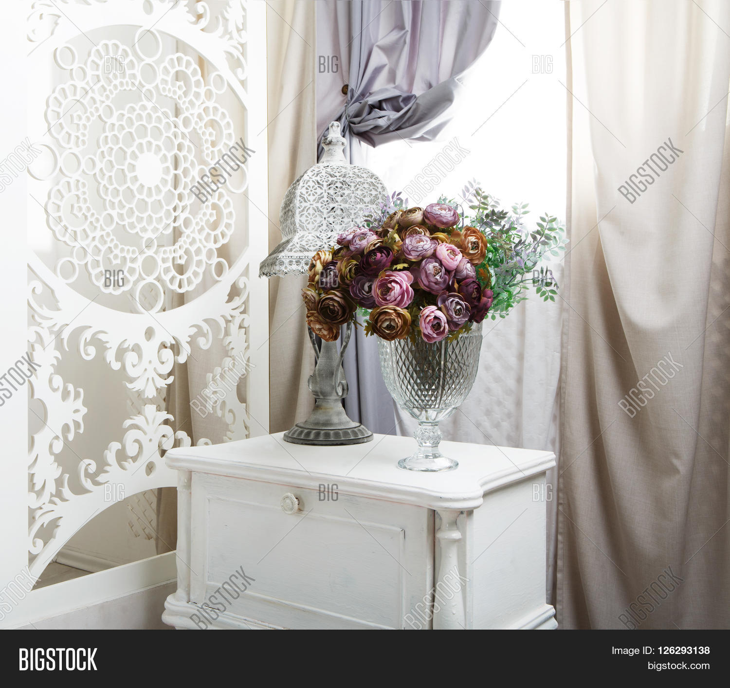 Shabby Chic Room Interior Wedding Image Photo Bigstock