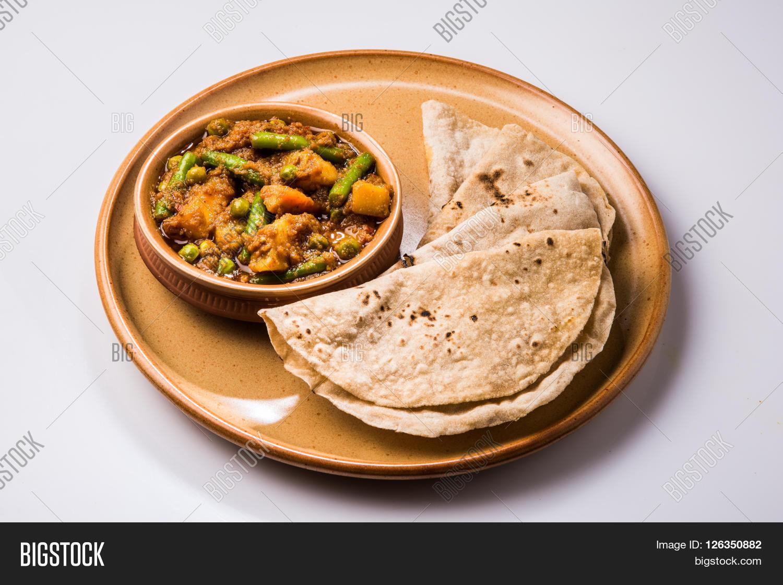 Indian Recipe Mixed Veg Containing Image Amp Photo Bigstock