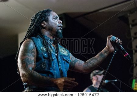 BRISBANE, AUSTRALIA - MARCH 17: Sevendust live in Brisbane at Eaton Hills Hotel