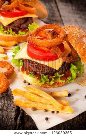 Beef And Onion Rings