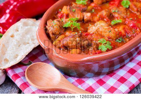 Goulash In Stew