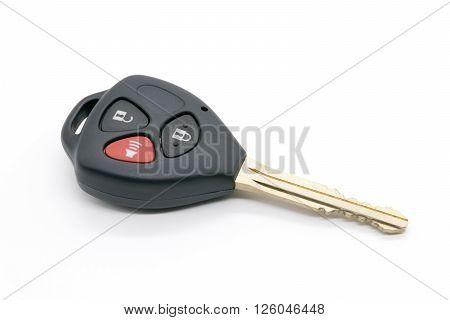 cars key isolated on white background. key