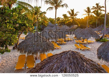 The Beach in the Dominicus - Republica Dominicana