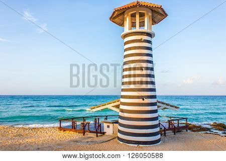 The Lighthouse on the Beach - Republica Dominicana
