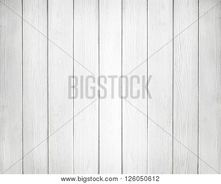 White wooden wall texture background. Wood pine plank white texture background
