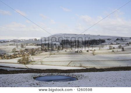 Chelmorton In Snow