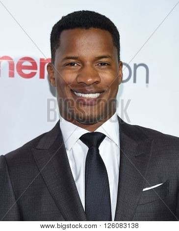 LOS ANGELES - APR 14:  Nate Parker arrives to the Cinema Con 2016: Awards Gala  on April 14, 2016 in Las Vegas, NV.