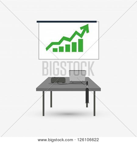 businessconcept with icon design, vector illustration 10 eps graphic.