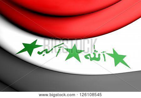 Flag Of Iraq (1991-2004)