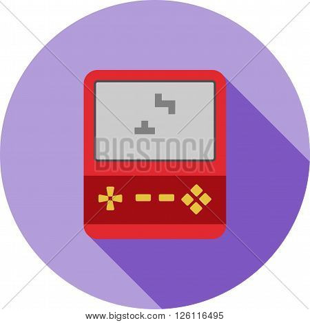 Plastic, lego, game icon vector image.Can also be used for games entertainment. Suitable for mobile apps, web apps and print media. poster