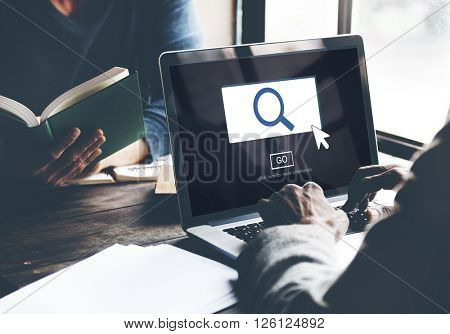 Searching Looking For Research Finding Concept