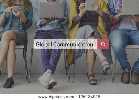 Global Communication Connection Conversation Concept