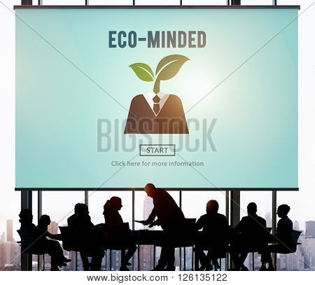 Eco-Minded Energy Environmental Sustainable Concept