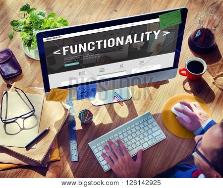 Functionality Practical Purpose Suitable Technology Concept