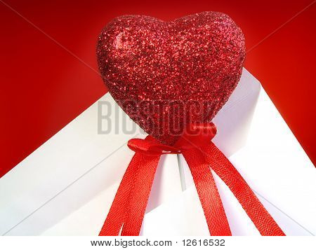 Souvenir Heart In An Envelope