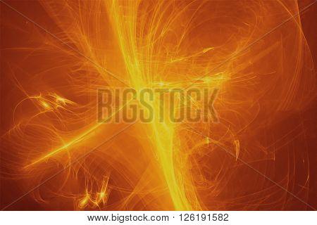 Yellow Glow Energy Wave.