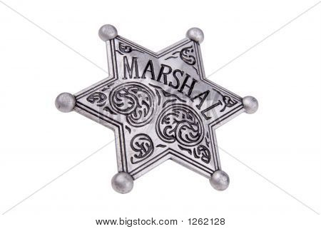 Marshals Star Badge