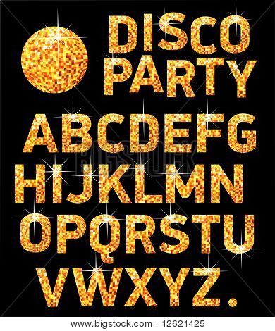 Font Discoball.