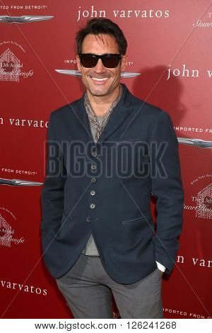 LAS VEGAS - APR 17:  Gregory Zarian at the John Varvatos 13th Annual Stuart House Benefit at the John Varvatos Store on April 17, 2016 in West Hollywood, CA