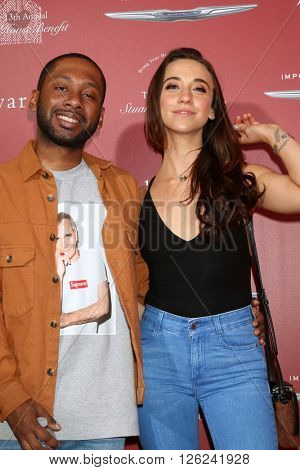 LAS VEGAS - APR 17:  Jordan Rock, Stella Maeve at the John Varvatos 13th Annual Stuart House Benefit at the John Varvatos Store on April 17, 2016 in West Hollywood, CA