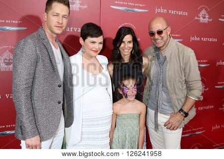 LAS VEGAS - APR 17:  Josh Dallas, Ginnifer Goodwin, Thea Varvatos, Joyce Varvatos, John Varvatos at the Stuart House Benefit at the John Varvatos Store on April 17, 2016 in West Hollywood, CA