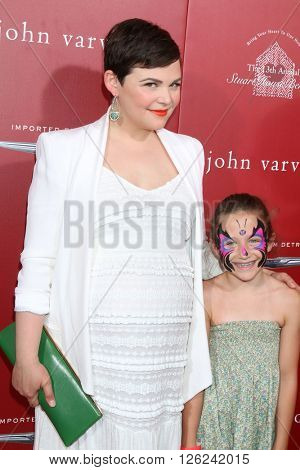 LAS VEGAS - APR 17:  Ginnifer Goodwin, Thea Varvatos at the John Varvatos 13th Annual Stuart House Benefit at the John Varvatos Store on April 17, 2016 in West Hollywood, CA