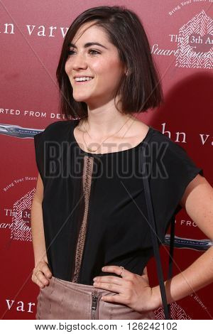 LAS VEGAS - APR 17:  Isabelle Fuhrman at the John Varvatos 13th Annual Stuart House Benefit at the John Varvatos Store on April 17, 2016 in West Hollywood, CA