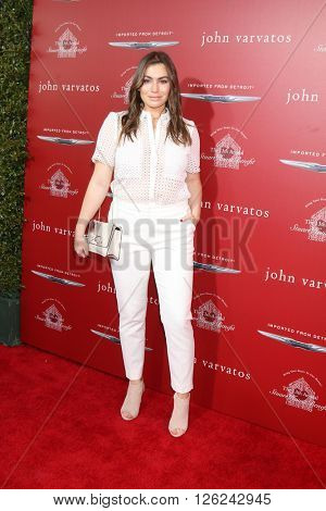LAS VEGAS - APR 17:  Sophie Simmons at the John Varvatos 13th Annual Stuart House Benefit at the John Varvatos Store on April 17, 2016 in West Hollywood, CA