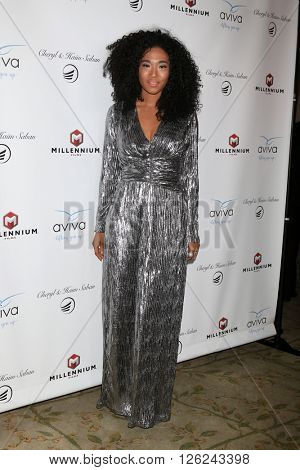 LAS VEGAS - APR 16:  Judith Hill at the A Gala To Honor Avi Lerner And Millennium Films at the Beverly Hills Hotel on April 16, 2016 in Beverly Hills, CA