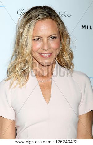 LAS VEGAS - APR 16:  Maria Bello at the A Gala To Honor Avi Lerner And Millennium Films at the Beverly Hills Hotel on April 16, 2016 in Beverly Hills, CA
