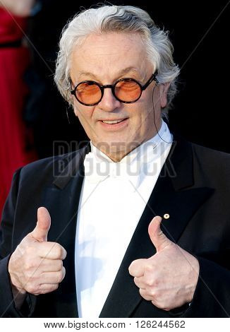 George Miller at the 88th Annual Academy Awards held at the Dolby Theatre in Hollywood, USA on February 28, 2016.