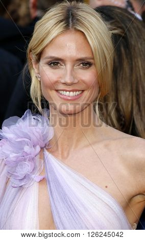 Heidi Klum at the 88th Annual Academy Awards held at the Dolby Theatre in Hollywood, USA on February 28, 2016.