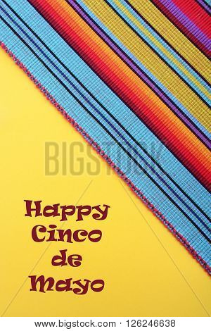 Cinco De Mayo Festive Background.