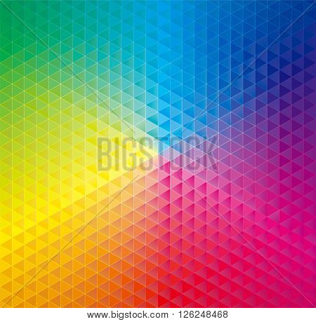 Geometric pattern abstract colorful background.